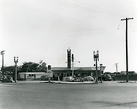 1939 France's Drive In at Washington & Crenshaw Blvds.