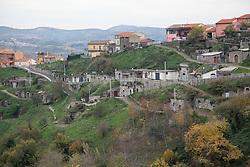 Barile (PZ) Basilicata - Scorci di Barile. Le Cantine.