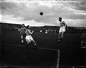 1957 - Dublin City Cup Final: Drumcondra v Shamrock Rovers