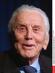 Kirk Douglas Dies At 103 - © Olivier Douliery/ABACA. 52824-12. Washington-DC-USA, November 18, 2003. The National Rehabilitation Hospital awards actor Kirk Douglas with its 2003 Victory Award.