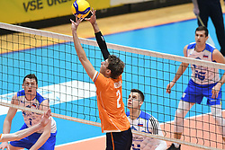02-01-2020 SLO: Slovenia - Netherlands, Maribor<br /> Wessel Keemmink of Netherlands during friendly volleyball match between National Men teams of Slovenia and Netherlands before the friendly volleyball match between National Men teams of Slovenia and Netherlands