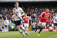 Jan Vertonghen of Tottenham Hotspur in action. Barclays Premier league match, Tottenham Hotspur v Manchester Utd at White Hart Lane in London on Sunday 10th April 2016.<br /> pic by John Patrick Fletcher, Andrew Orchard sports photography.