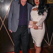 Phil Green,Amber Bowles attend the Supermodel UK glamour Model of the Year 2016 at DSTRKT on 23rd November 2016 in London,UK. Photo by See Li