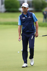 June 23, 2018 - Cromwell, Connecticut, United States - Zach Johnson walks off the 8th green during the third round of the Travelers Championship at TPC River Highlands. (Credit Image: © Debby Wong via ZUMA Wire)