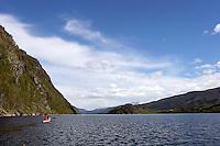 Padle havkajakk, paddle sea kayak, Vinjefjorden
