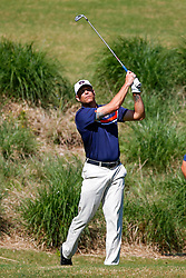 Former Auburn pitcher Tim Hudson during the Chick-fil-A Peach Bowl Challenge at the Ritz Carlton Reynolds, Lake Oconee, on Monday, April 30, 2019, in Greensboro, GA. (Paul Abell via Abell Images for Chick-fil-A Peach Bowl Challenge)
