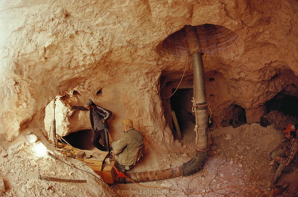 Coober Pedy opal mine. South Australia.