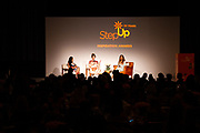 Step Up student, Jenni Luke, CEO, Step Up Women's Network and actress Garcelle Beauvais