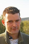 Frédéric Pourtalié Domaine de Montcalmes in Puechabon. Terrasses de Larzac. Languedoc. Owner winemaker. France. Europe.