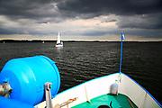 20008-07-15. Jezioro Niegocin przed burzą
