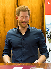 Newcastle: Prince Harry attends the Heads Together charity day - 21 Feb 2017