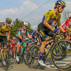 21-04-2021: Wielrennen: Waalse Pijl Elite Men: Huy <br /> Primoz Roglic, Lennard Hofstede