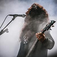 Slayer live at Hovefestivalen 2007.