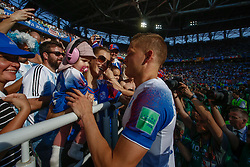 June 16, 2018 - Moscou, VAZIO, RUSSIA - Twisted before the game between Argentina and Iceland valid for the first round of group D of the 2018 World Cup, held at the Spartak stadium in Moscow, Russia (Credit Image: © Thiago Bernardes/Pacific Press via ZUMA Wire)