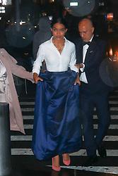 NEW YORK, NY - APRIL 25: Danielle Herrington, Yara Shahidi seen on April 25, 2018 in New York City. CAP/MPI/DC ©DC/MPI/Capital Pictures. 25 Apr 2018 Pictured: Yara Shahidi. Photo credit: DC/MPI/Capital Pictures / MEGA TheMegaAgency.com +1 888 505 6342