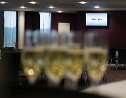 The Heineken Lounge is prepared to receive members of the Lansdown club  - Mandatory byline: Joe Meredith/JMP - 07966386802 - 13/08/2015 - FOOTBALL - Ashton Gate - Bristol, England - Lansdown Club