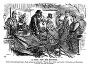 """A Case for Mr Banting. Driver (of the Herring Mould to party inclining to embonpoint). """"Hullo Bill! How many sacks o' pertaters and hogsheads o' sugar 'ave yer got there?"""""""