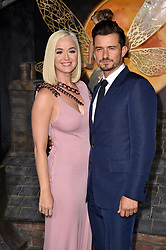 """Katy Perry and Orlando Bloom attend the LA Premiere of Amazon's """"Carnival Row"""" at TCL Chinese Theatre on August 21, 2019 in Los Angeles, CA, USA. Photo by Lionel Hahn/ABACAPRESS.COM"""