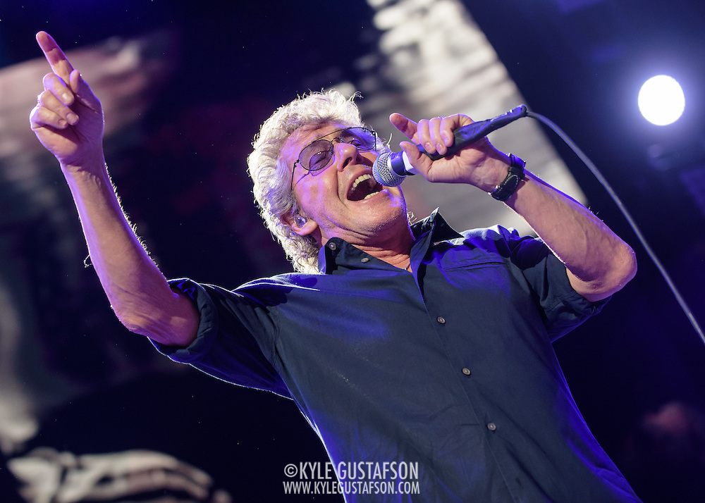 WASHINGTON, DC - March 24th, 2016 - Roger Daltrey  of The Who performs at the Verizon Center in Washington, D.C. as part of the group's The Who Hits 50! tour. The band had to postpone the fall 2015 North American leg of the tour when Daltrey contracted viral Meningitis. (Photo by Kyle Gustafson / For The Washington Post)