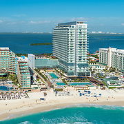 Secrets The Vine hotel. Cancun, Quintana Roo. Mexico.