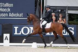 Christensen Jan Möller, DEN, Hesselhoej Donkey Boy<br /> Longines FEI/WBFSH World Breeding Dressage Championships for Young Horses - Ermelo 2017<br /> © Hippo Foto - Dirk Caremans<br /> 04/08/2017