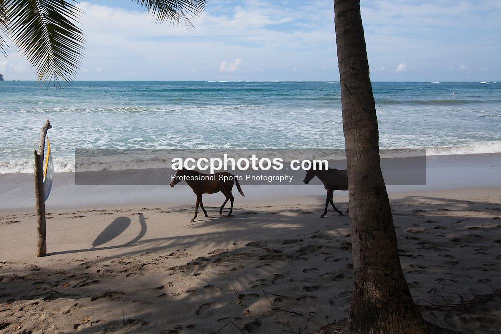 09 August 2012: Beachside in Sámara, Costa Rica