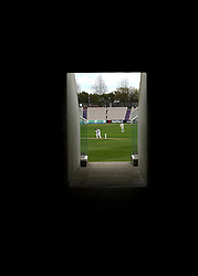 Looking through a concourse at the Ageas Bowl - Photo mandatory by-line: Robbie Stephenson/JMP - Mobile: 07966 386802 - 27/04/2015 - SPORT - Cricket - Southampton - The Ageas Bowl - Hampshire v Nottinghamshire - County Championship Division One