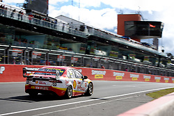 October 7, 2018 - Bathurst, NSW, U.S. - BATHURST, NSW - OCTOBER 07: Fabian Coulthard / Tony D'Alberto in the Shell V-Power Racing Team Ford Falcon up the main straight at the Supercheap Auto Bathurst 1000 V8 Supercar Race at Mount Panorama Circuit in Bathurst, Australia on October 07, 2018 (Photo by Speed Media/Icon Sportswire) (Credit Image: © Speed Media/Icon SMI via ZUMA Press)