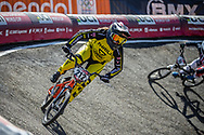 #212 (PETERSONE Vineta) LAT at Round 4 of the 2018 UCI BMX Superscross World Cup in Papendal, The Netherlands