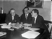 1956 ASPRO Quiz Competition Judges