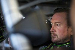 June 23, 2017 - Sonoma, CA, United States of America - June 23, 2017 - Sonoma, CA, USA: Kurt Busch (41) hangs out in the garage during practice for the Toyota/Save Mart 350 at Sonoma Raceway in Sonoma, CA. (Credit Image: © Justin R. Noe Asp Inc/ASP via ZUMA Wire)
