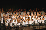 The graduation performance