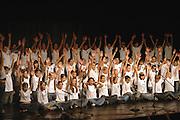 The graduation performance