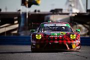January 22-26, 2020. IMSA Weathertech Series. Rolex Daytona 24hr. #9 PFAFF Motorsports Porsche 911 GT3 R, GTD: Dennis Olsen, Zacharie Robichon, Lars Kern, Patrick Pilet