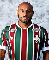 """Brazilian Football League Serie A / <br /> ( Fluminense Football Club ) - <br /> Jonathan Cicero Moreira """" Jonathan Moreira """""""