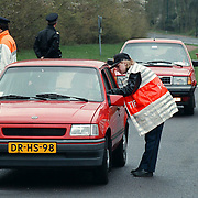 Verkeerscontrole politie Crailoseweg