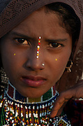Young Girl - Rajasthan Jaisalmer India 2011