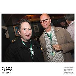Bill Gosden;Richard King at the Toronto International Film Festival 2006 at the Shotover Bar, Yorkville, Toronto, Ontario, Canada.