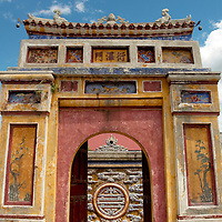 Gate at Hue's imperial palace