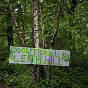 Europa Oil and Gas company has got license to drill for oil in the woods near Leith Hill.  Proetctors of the land, a group of local campaigners against the proposed drilling and activists have set up a community camp on Coldharbour Lane to  protect Leith Hill from the unconventional oil exploration, through monitoring, awareness raising, and peaceful community action.
