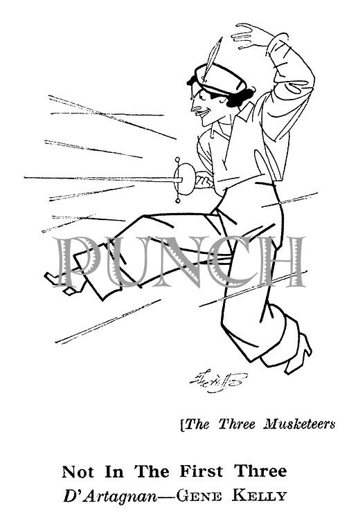 The Three Musketeers ; Gene Kelly......