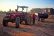 Tractor in Gibara, Holguin, Cuba.