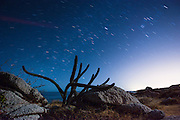 Beach camping is free and legal in Mexico, and while taking advantage of that allowance on a trip to Baja Sur, I took the time to capture a night shot of the local landscape and stars overhead