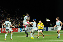 January 8, 2018 - Nanterre, Hauts de Seine, France - Racing Metro 92 Wing VIRIMI VAKATAWA in action during the French rugby championship Top 14 match between Racing Metro 92 and Clermont at U Arena Stadium in Nanterre - France.Racing won 58-6 (Credit Image: © Pierre Stevenin via ZUMA Wire)