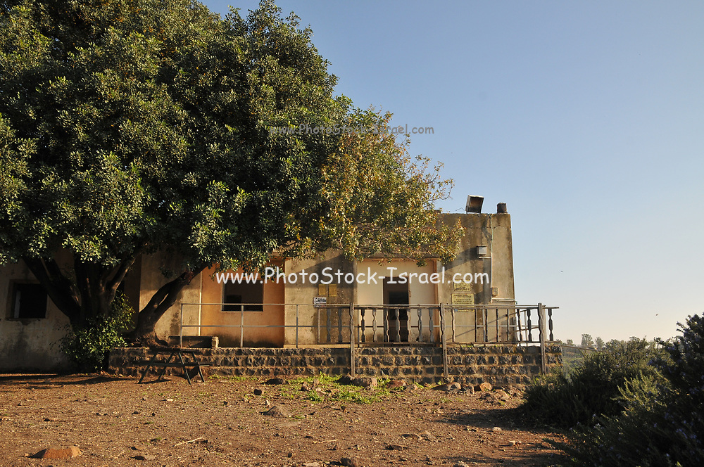 Remains of Fiq a Syrian town and military base on the Golan Heights. In June 1967, it was evacuated. It is now a memorial to the Israeli spy Eli Cohen who operated in Syria prior to the Six Day War