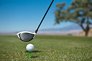 Tee off at Kokopelli Golf Course in southern Utah. Photograph for World Image Printing in Southern Utah. Job was for fundraising golf tournament advertising for Mohave Community College.