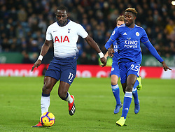 December 8, 2018 - Leicester, England, United Kingdom - Leicester, December 08, 2018.L-R Tottenham Hotspur's Moussa Sissoko and Leicester City's Wilfred Ndidi.during the English Premier League match between Leicester City and Tottenham Hotspur at the King Power Stadium in Leicester, Britain, 8 December 2018  (Credit Image: © Action Foto Sport/NurPhoto via ZUMA Press)
