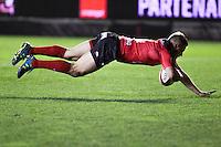 Essai Drew MITCHELL - 20.12.2014 - Toulon / Lyon OU - 13eme journee de Top 14 -<br />Photo : Jean Christophe Magnenet / Icon Sport