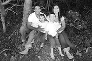 Gordon family portrait shoot at Burleigh Heads, Gold Coast. Photo by Matt Roberts
