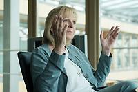 20 JUN 2016, BERLIN/GERMANY:<br /> Hannelore Kraft, SPD, Ministerpraesidentin Nordrhein-Westfalen, waehrend einem Interview, Landesvertertung Nordrhein-Westfalen<br /> IMAGE: 20160620-01-019